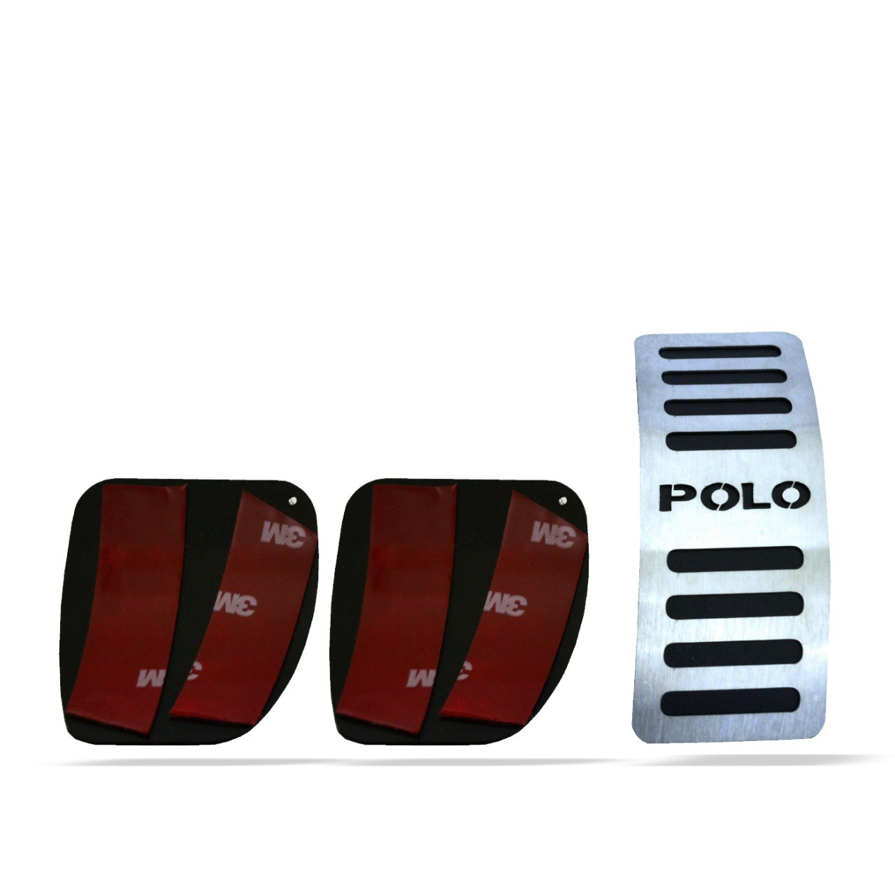 Pedaleira para Polo Manual em Aço Inox