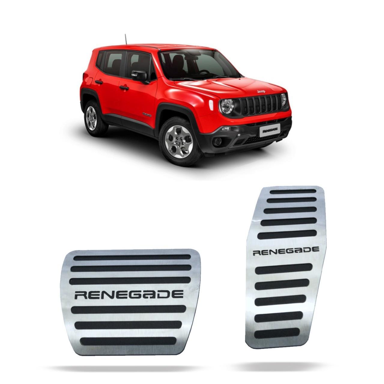 Pedaleira para Renegade Automático em Aço Inox