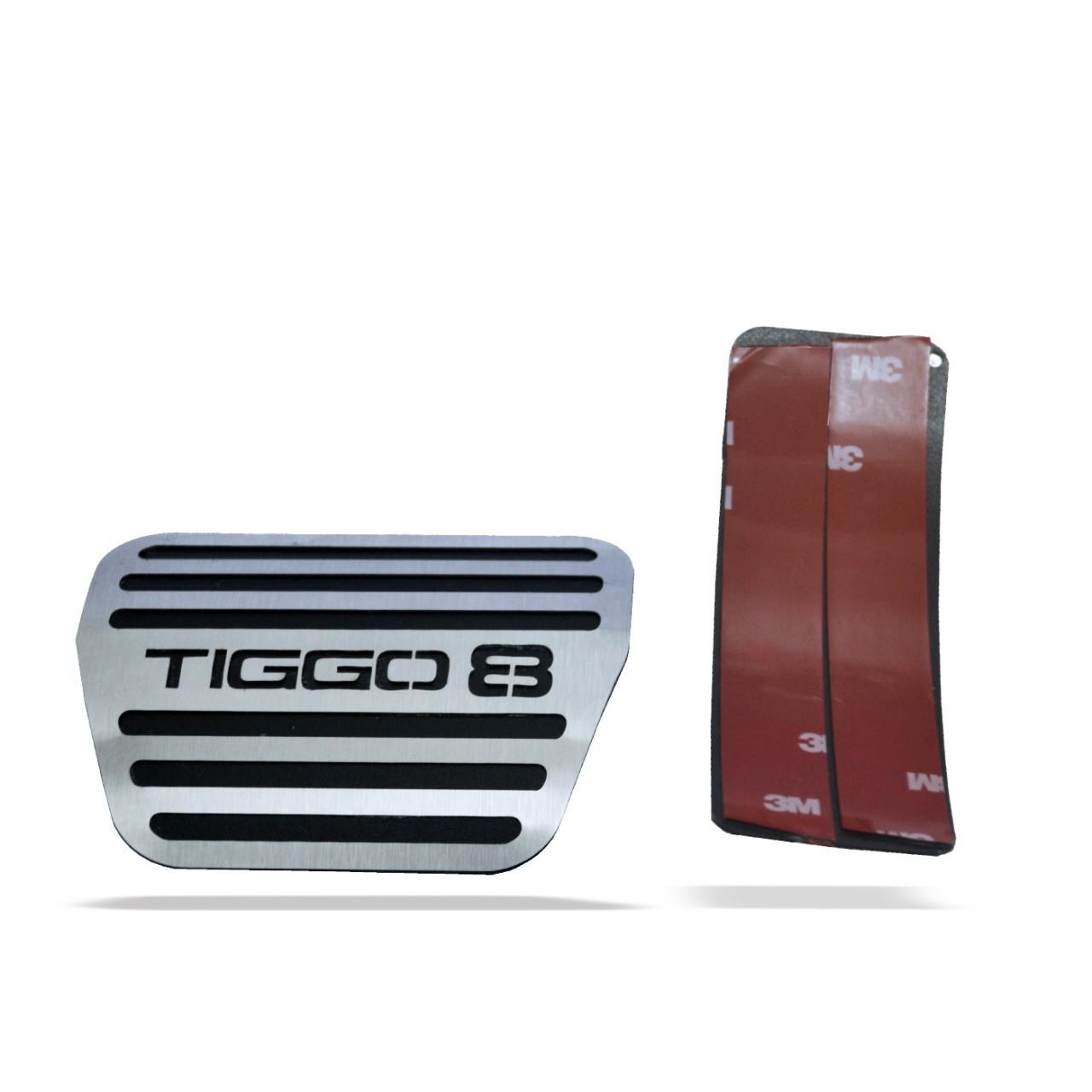 Pedaleira para Tiggo 8 Automatico em Aço Inox