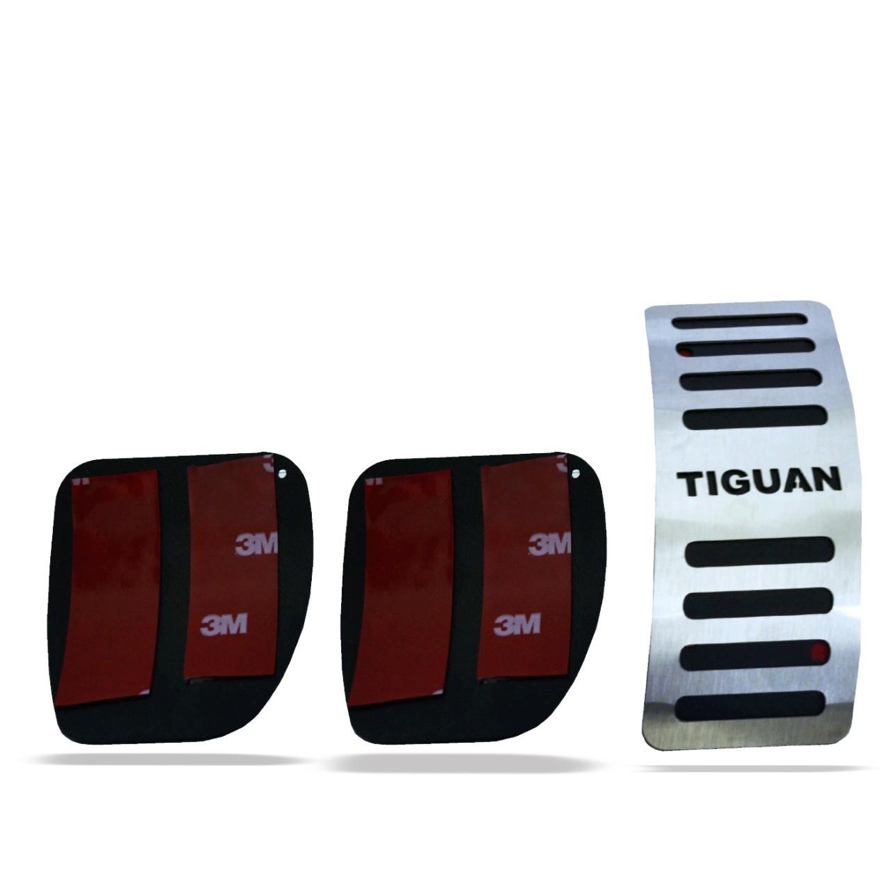 Pedaleira para Tiguan Manual em Aço Inox