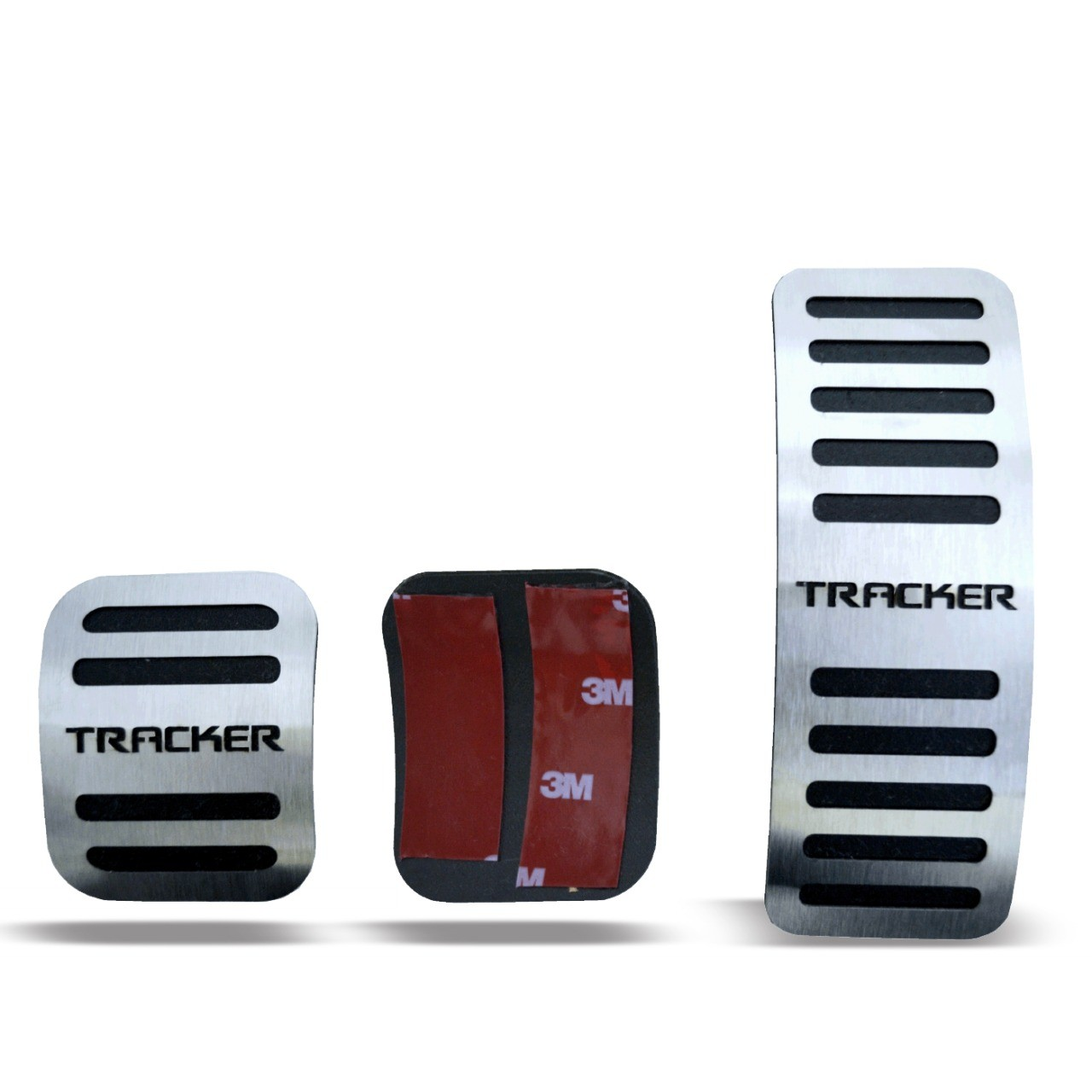 Pedaleira para Tracker Manual em Aço Inox