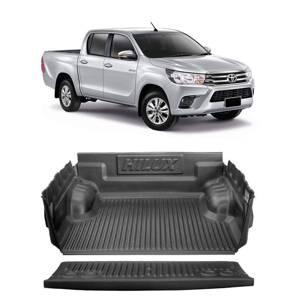 Protetor De Caçamba Toyota Hilux 2016 2017 Cabine Dupla