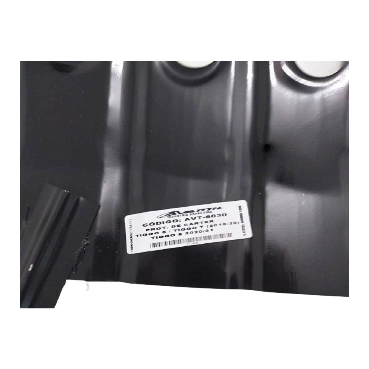 Protetor de Cárter para linha Chery Tiggo 5X Tiggo 7 e Tiggo 8 - AVT-6030