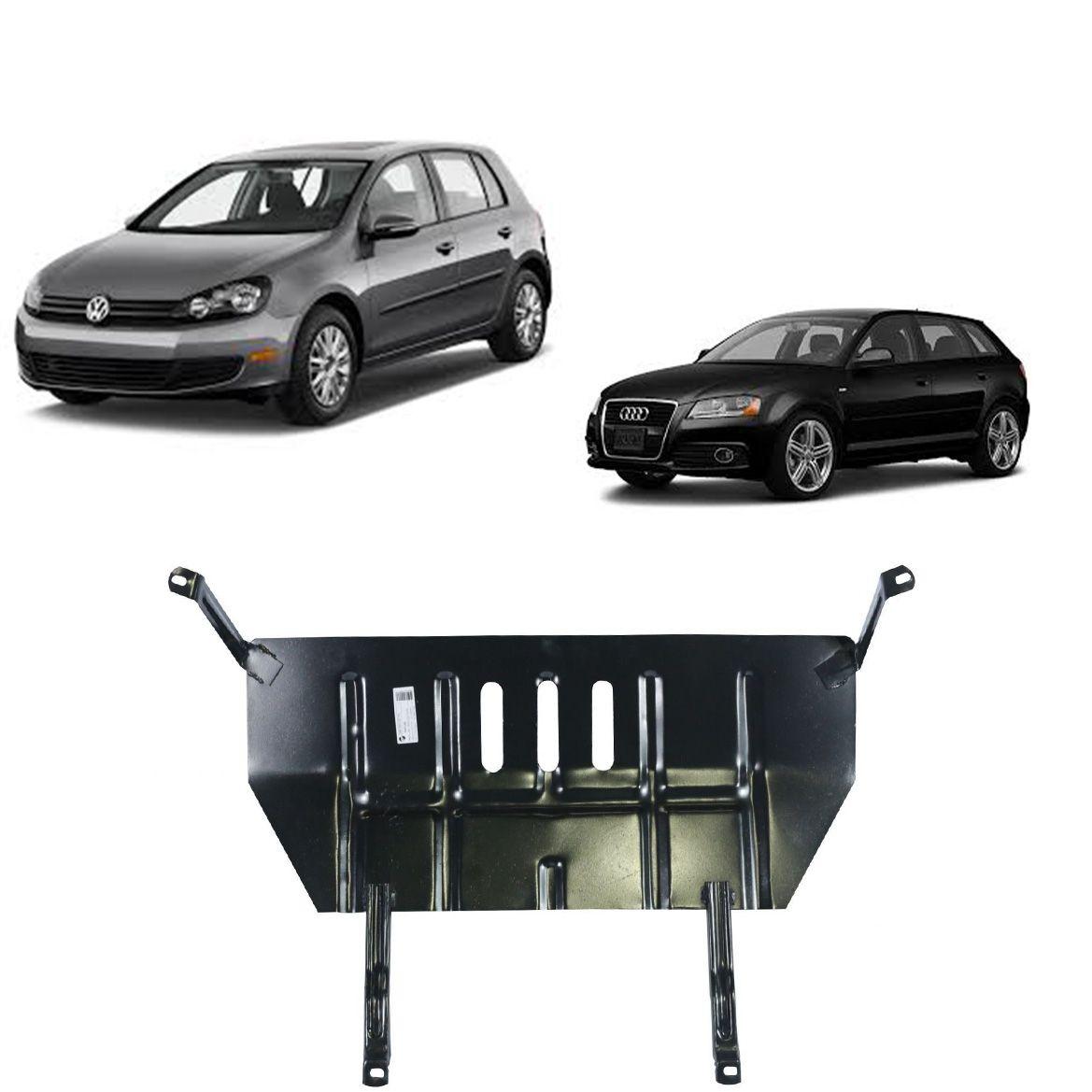 Protetor de Cárter para Golf 2001 a 2012 Bora e Audi A3 2009 a 2012