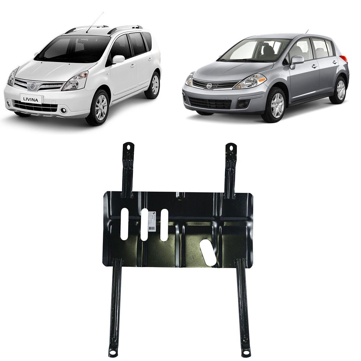 Protetor de Cárter para Nissan Livina 2009 a 2015 e Tiida 2008 a 2014
