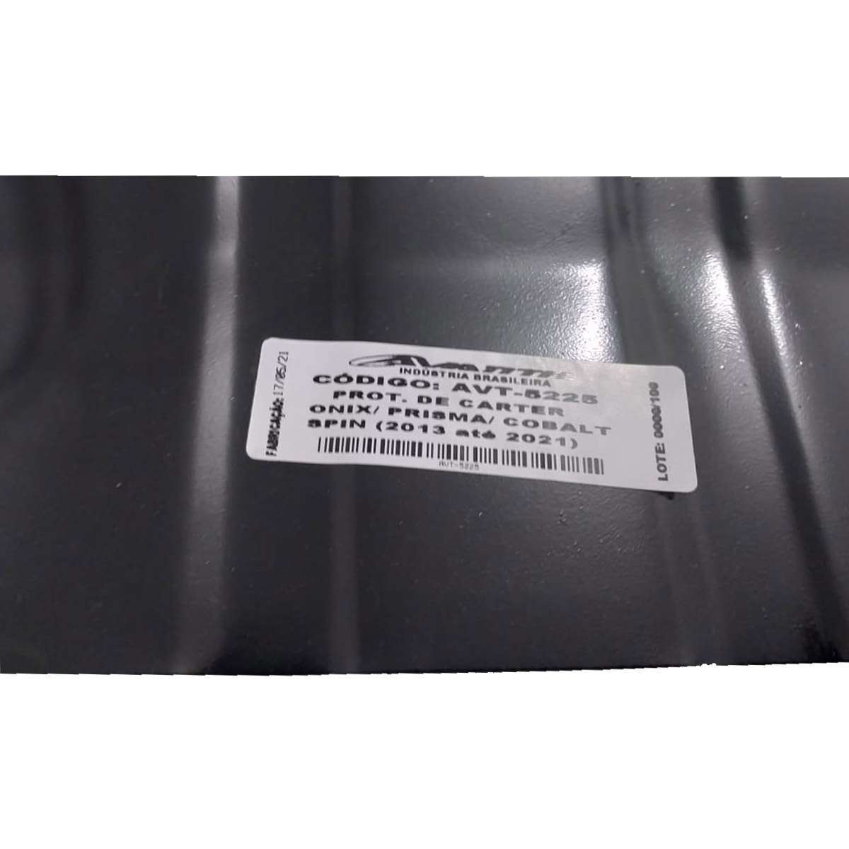 Protetor de Cárter para Onix  Prisma  Cobalt  Spin - AVT-5225