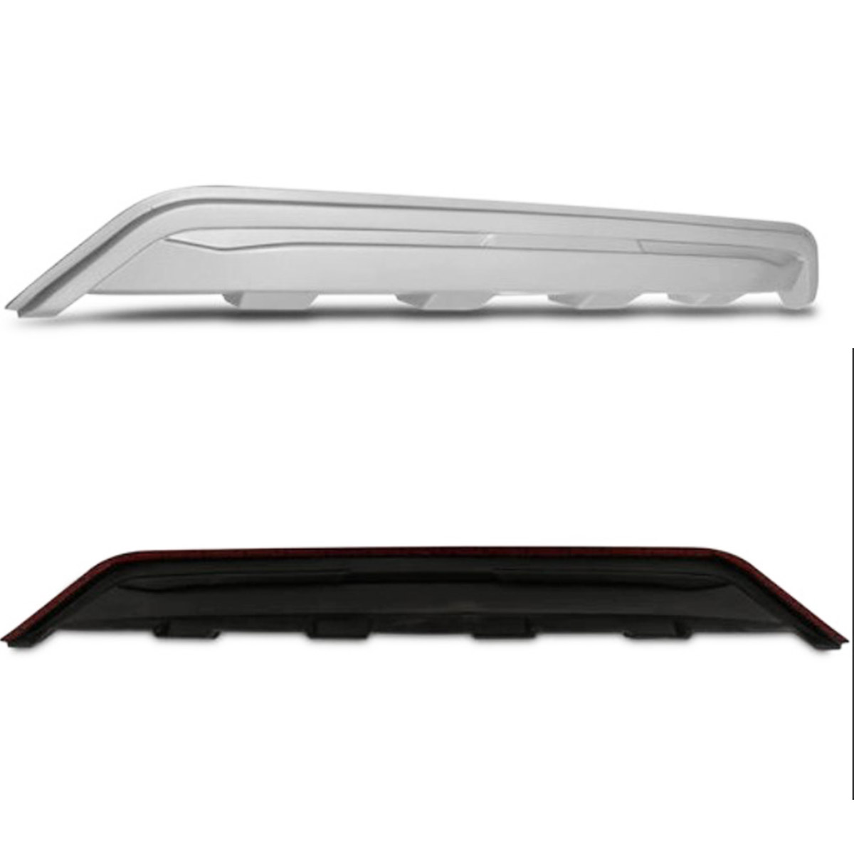 Protetor do Para-Choque Traseiro HR-V 2015 até 2020 Prata Aluminium 08.033