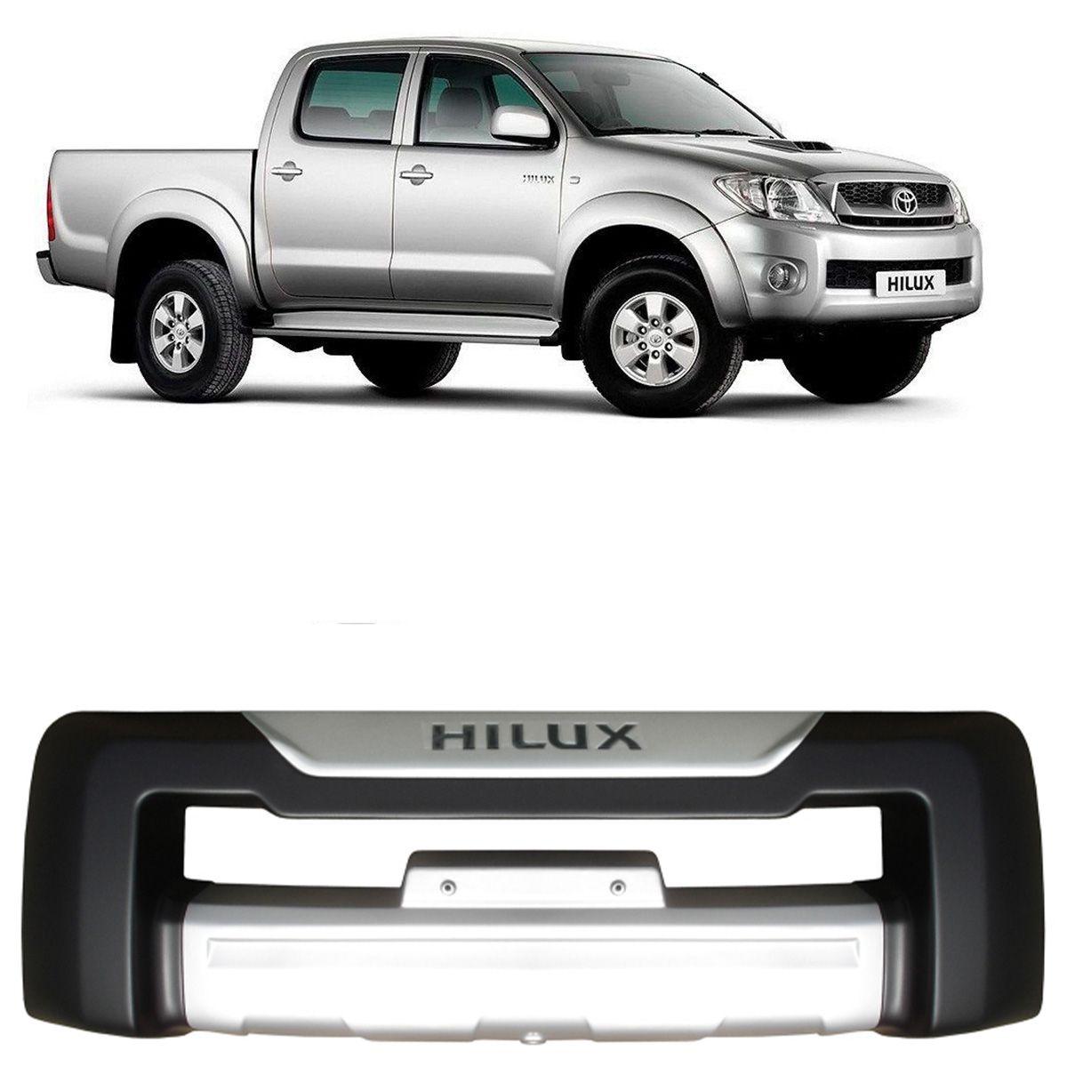 Protetor Frontal Overbumper Toyota Hilux 2009 a 2011 Dfender