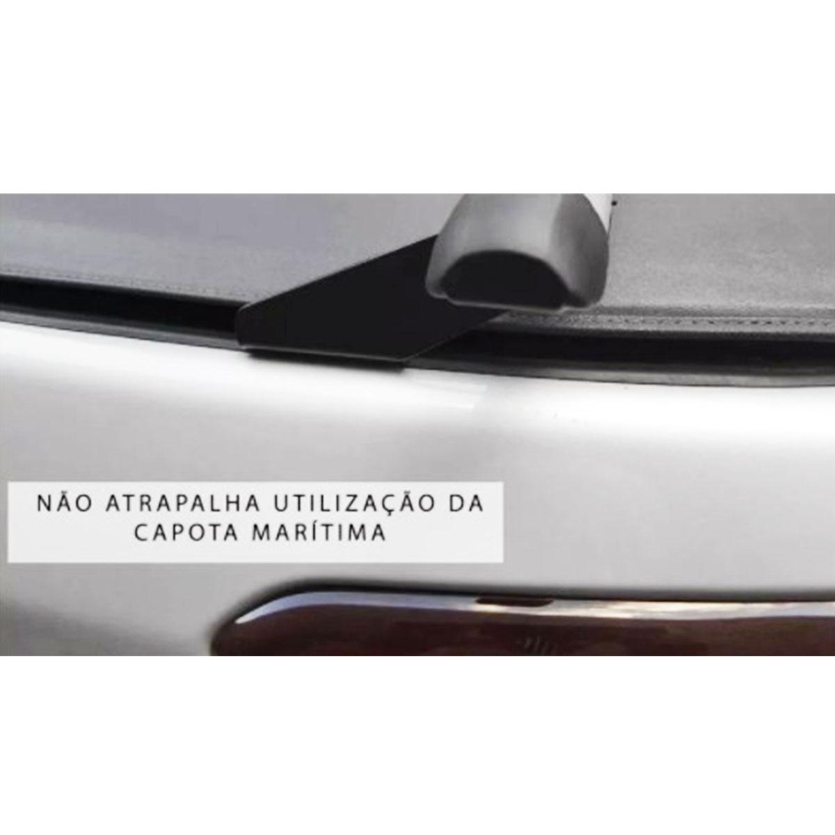 Rack de Caçamba Universal 1,60 Para Pick-Up Preto Kiussi Dolomit 04-202/B