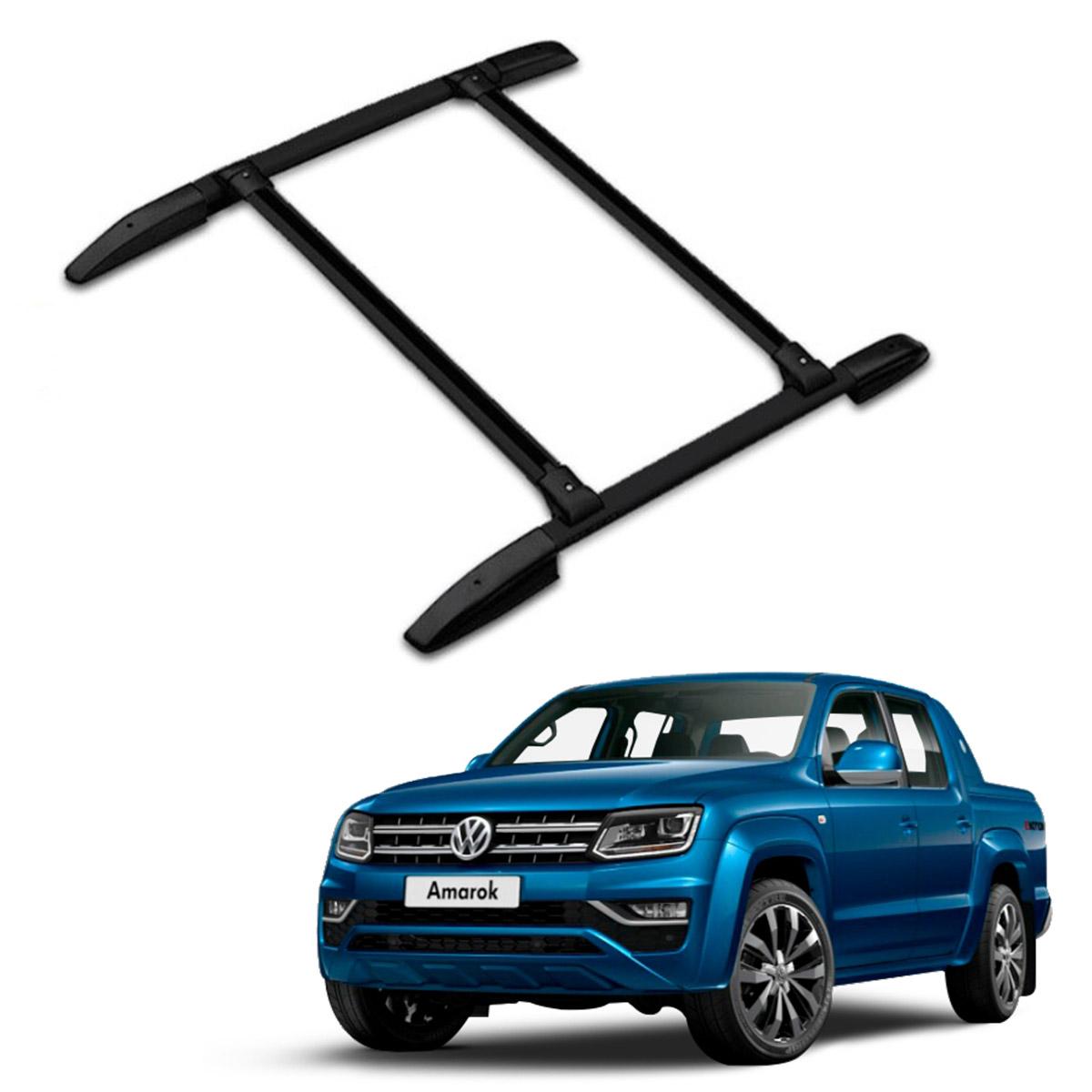 Rack de Teto Bagageiro Volkswagen Amarok Todos os Anos Projecar VW-146