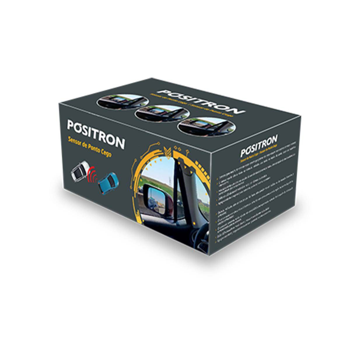 Sensor de Ponto Cego Universal Lateral Positron SA200