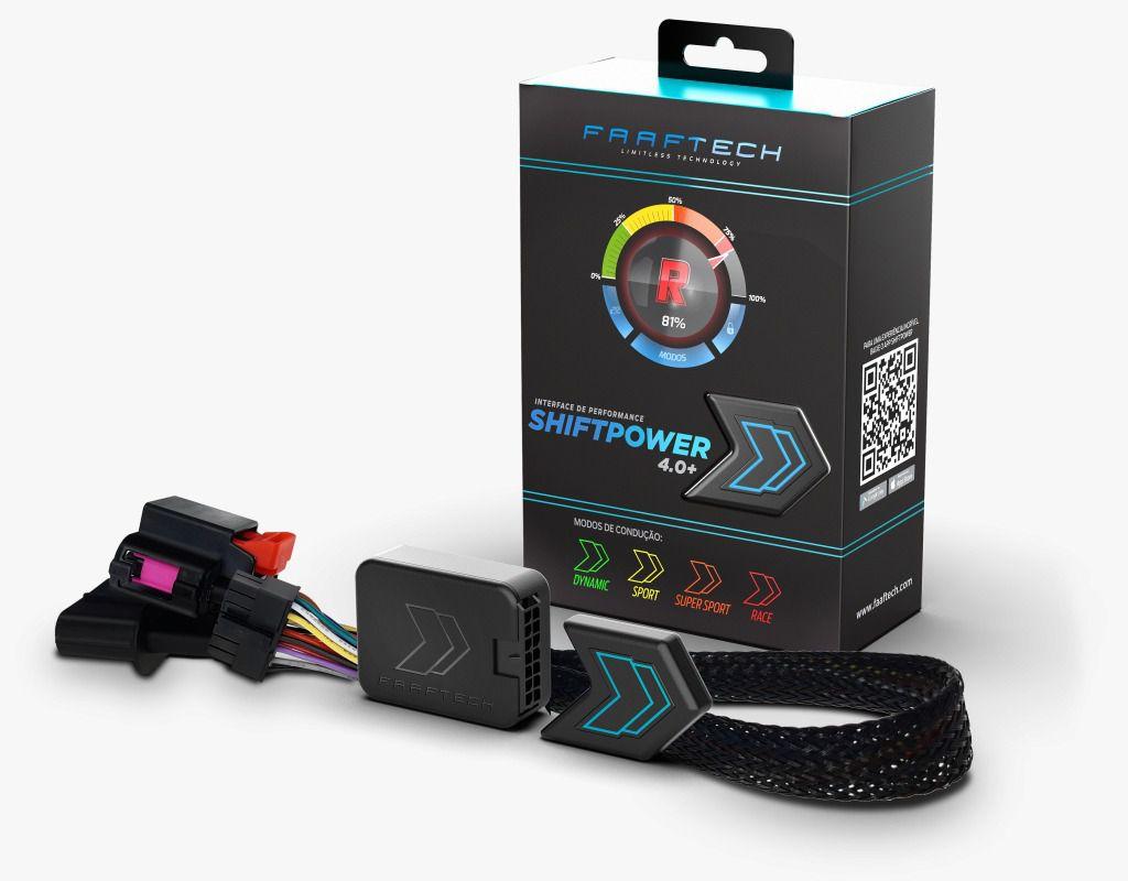 Shift Power Novo 4.0+ Mercedez Chip Acelerador Plug Play Bluetooth Faaftech FT-SP25+