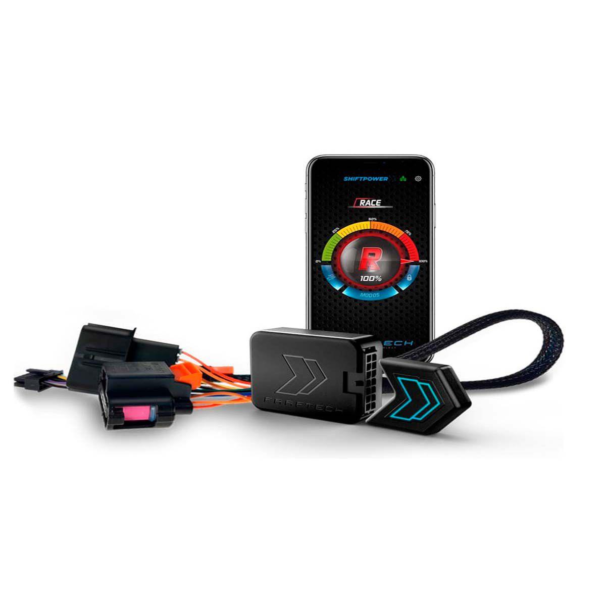 Shift Power para L200 Triton 2017 em diante Chip Acelerador Plug Play Bluetooth Faaftech FT-SP06+