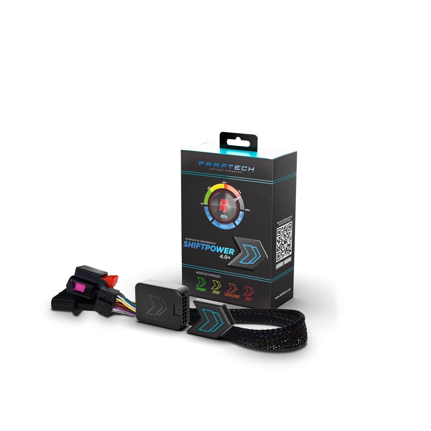 Shift Power para Mercedes Chip Acelerador Plug Play Bluetooth Faaftech FT-SP22+
