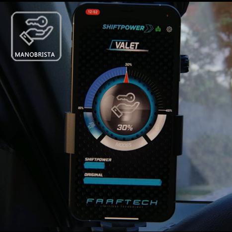 Shift Power para Ssangyong X-Terra Plug Play Bluetooth Faaftech FT-SP16+