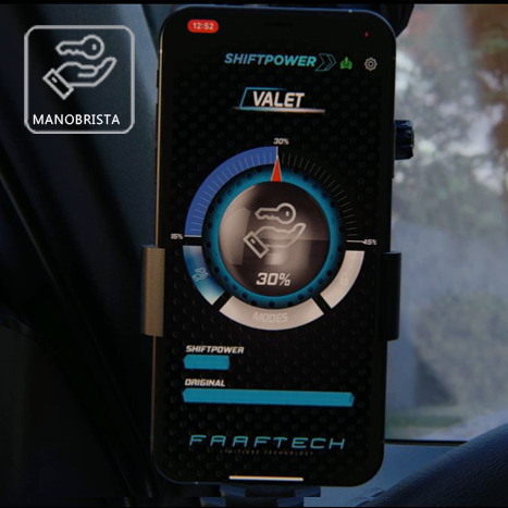 Shift Power para Volkswagen Audi Porsche Acelerador Plug Play Bluetooth Faaftech FT-SP18+
