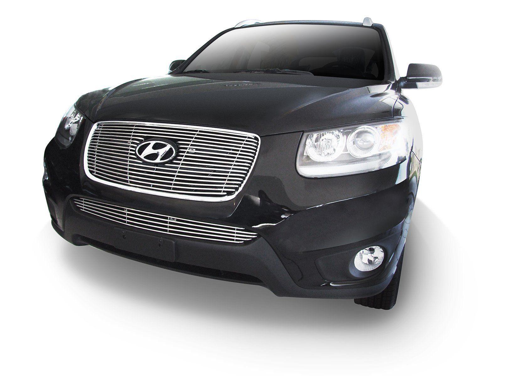Sobre Grade Cromada Aço Inox Hyundai Santa Fé 2011 a 2013 Darta
