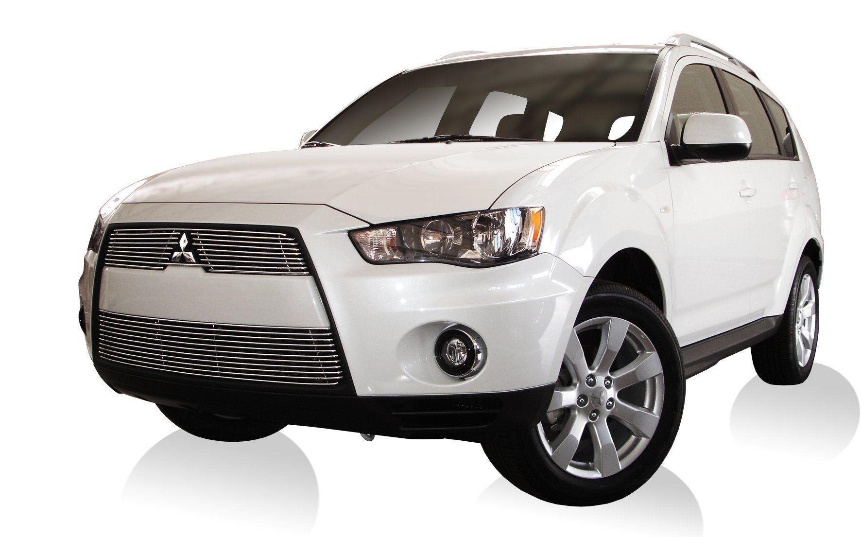 Sobre Grade Cromada Aço Inox Mitsubishi Outlander 2010 a 2013 Darta