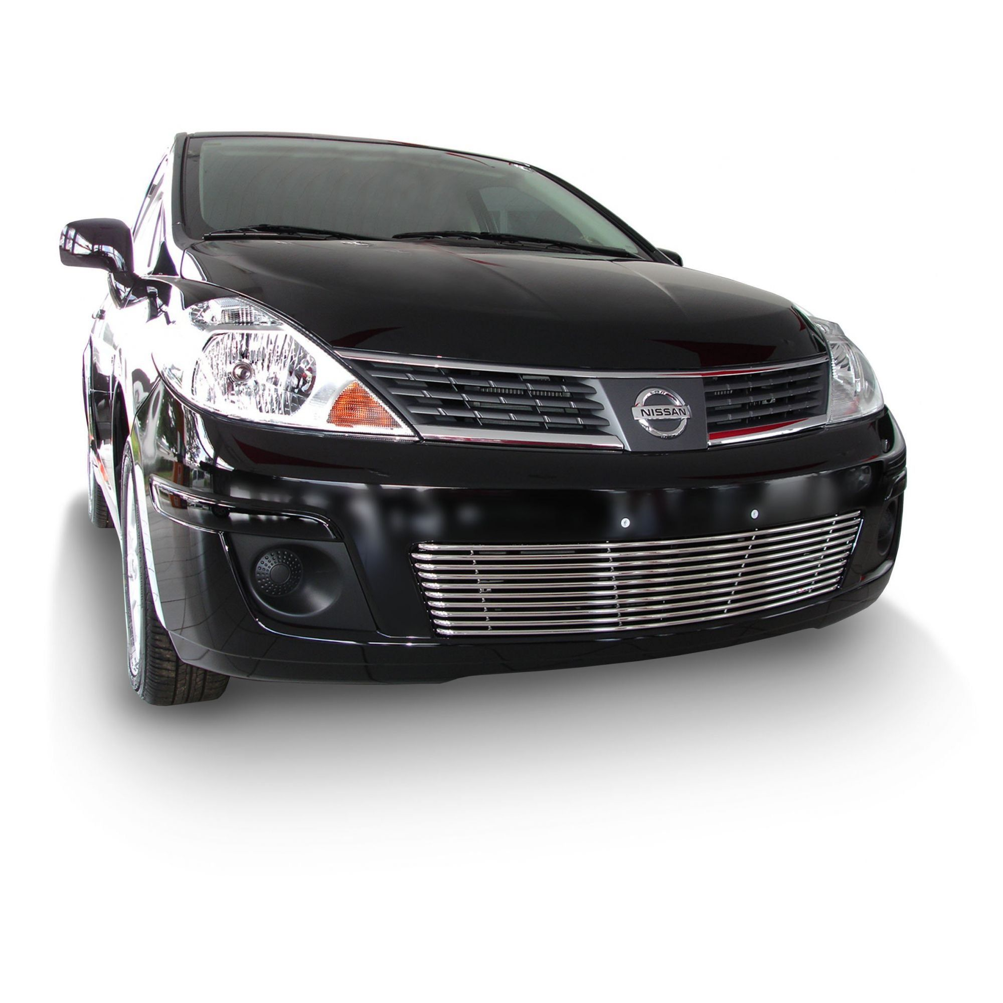 Sobre Grade Cromada Aço Inox Nissan Tiida 2007 a 2010 Darta