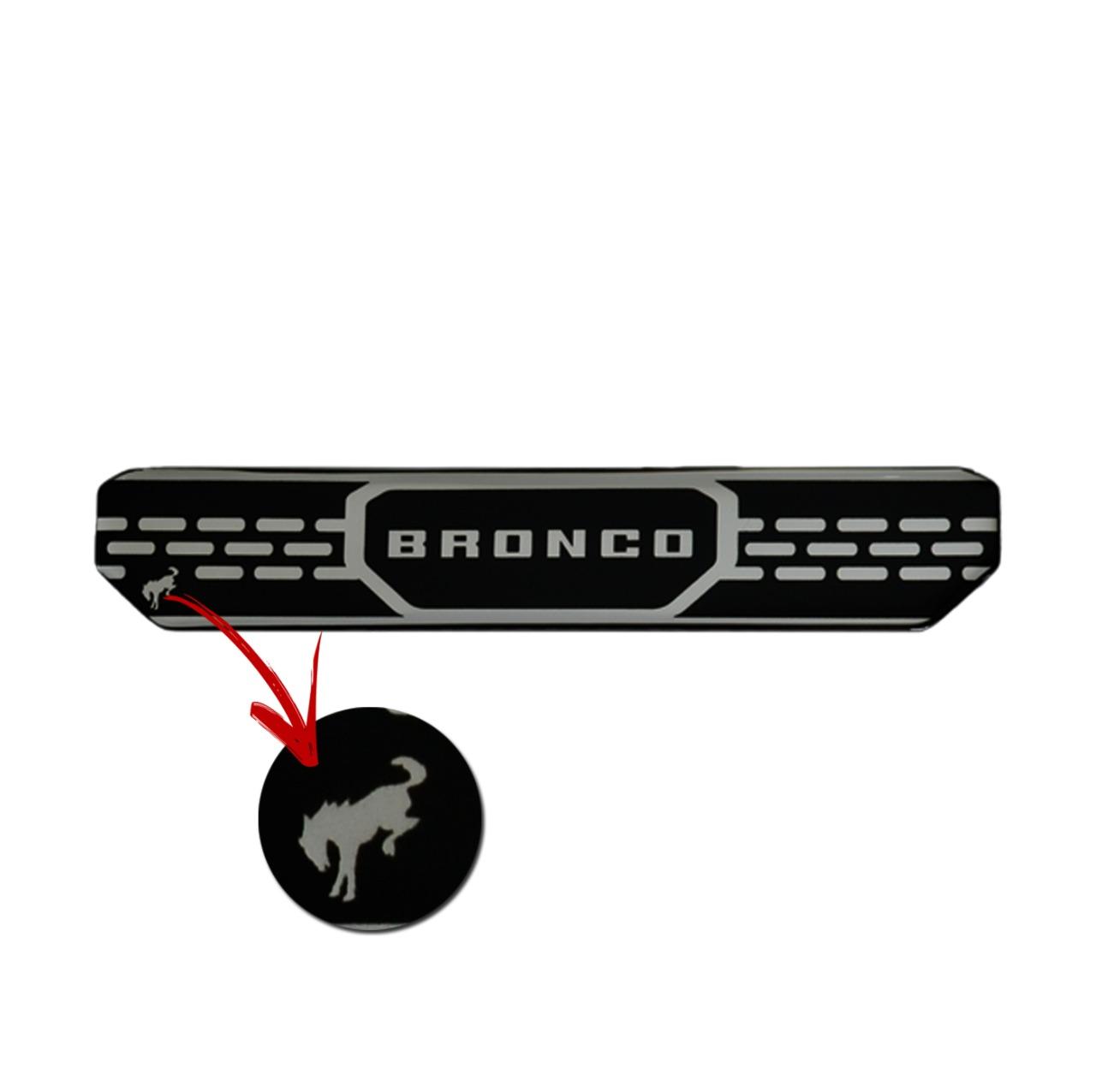 Soleira Porta Bronco Resinada Premium Elegance NP