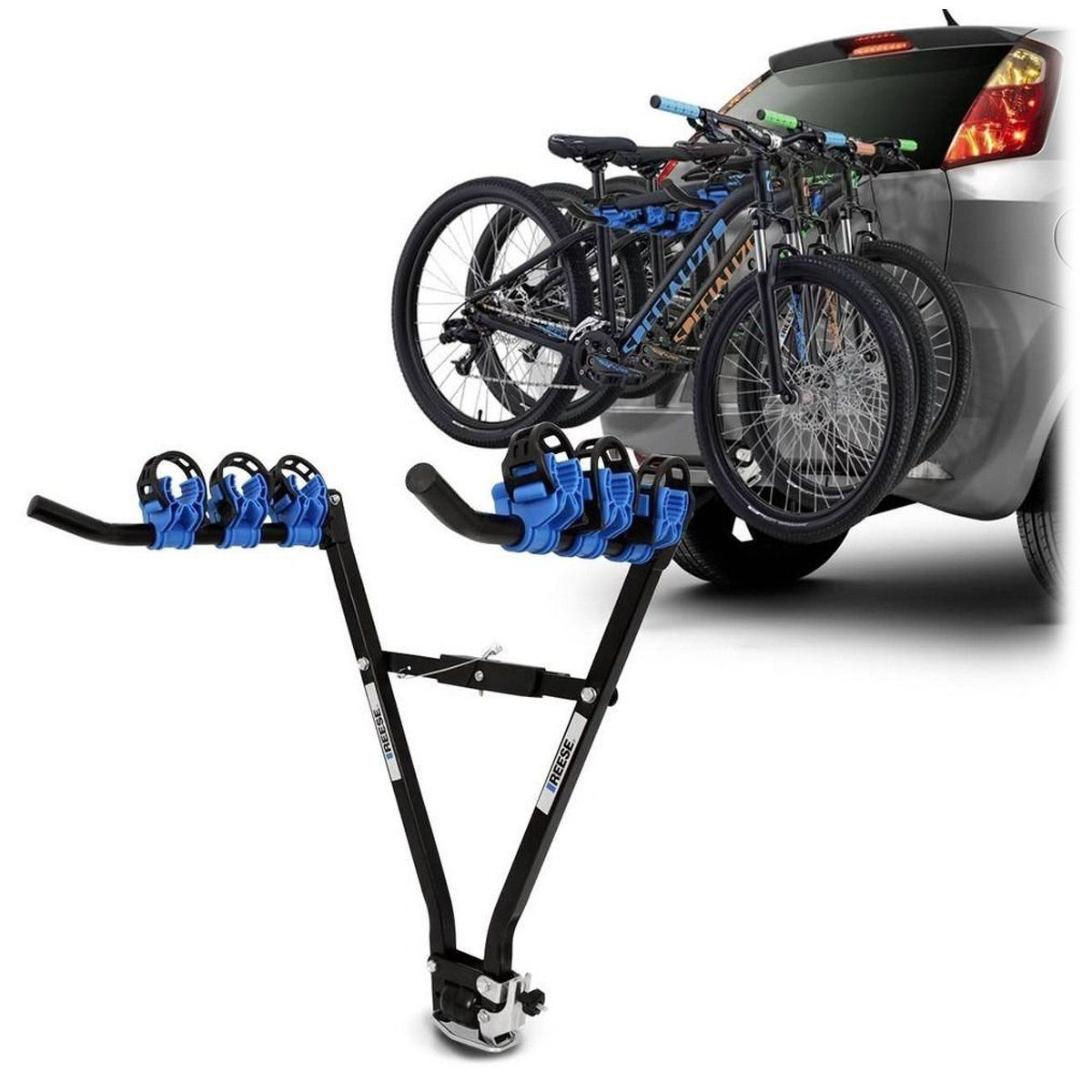Suporte de Bicicletas Transbike De Engate Para 3 Bikes Reese