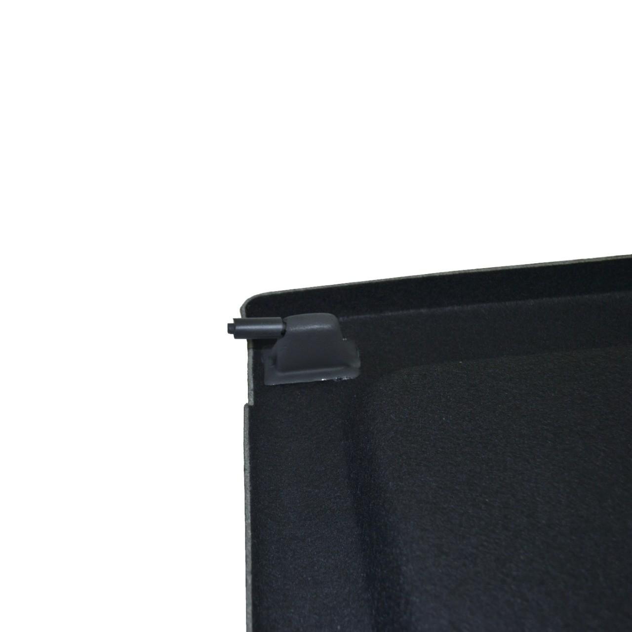 Tampão de Porta-Malas T-Cross em Plástico ABS c/ Carpete sem Cordinhas Grafite