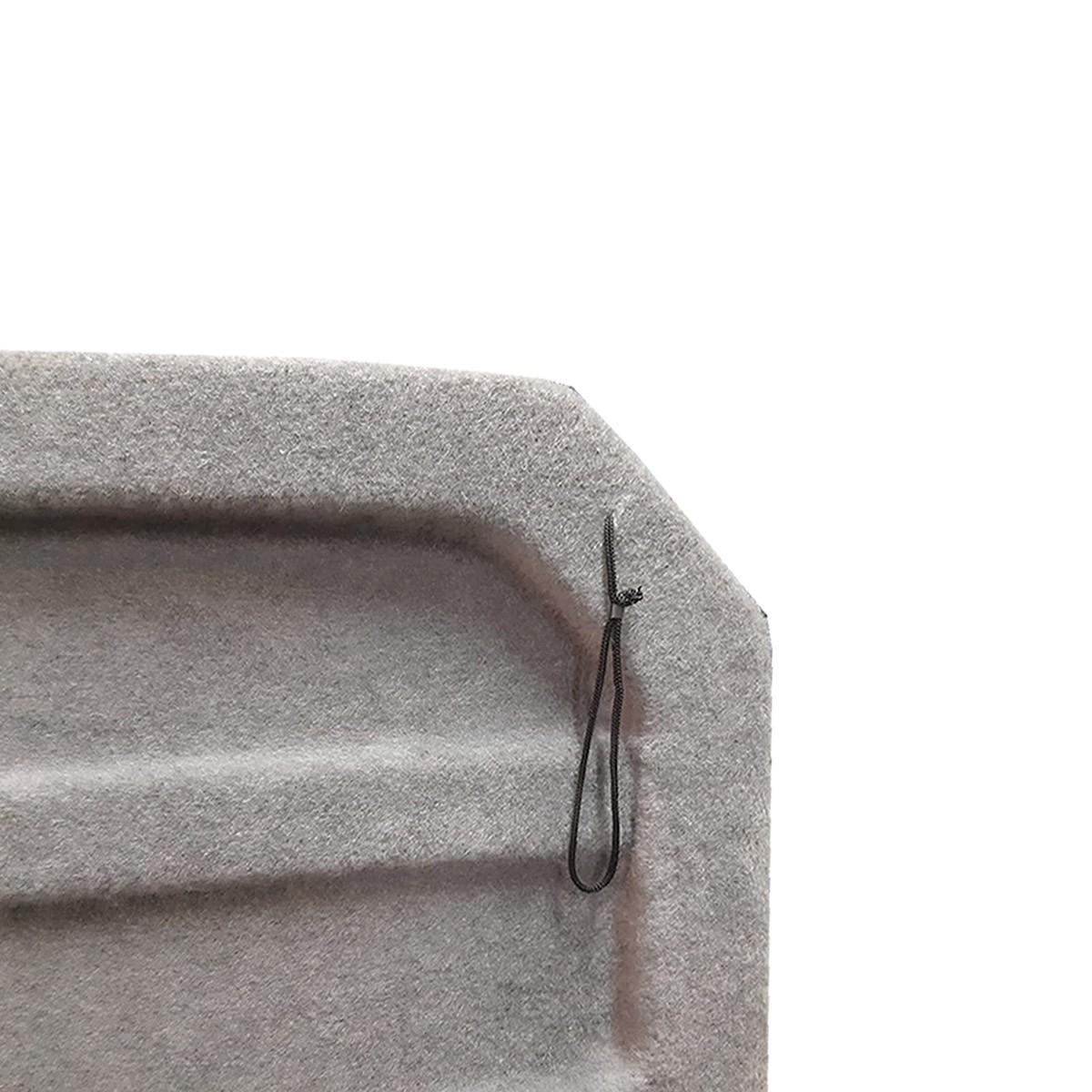Tampão de Porta-Malas T-Cross em Plástico PEAD c/ Carpete Cinza 2020 em diante