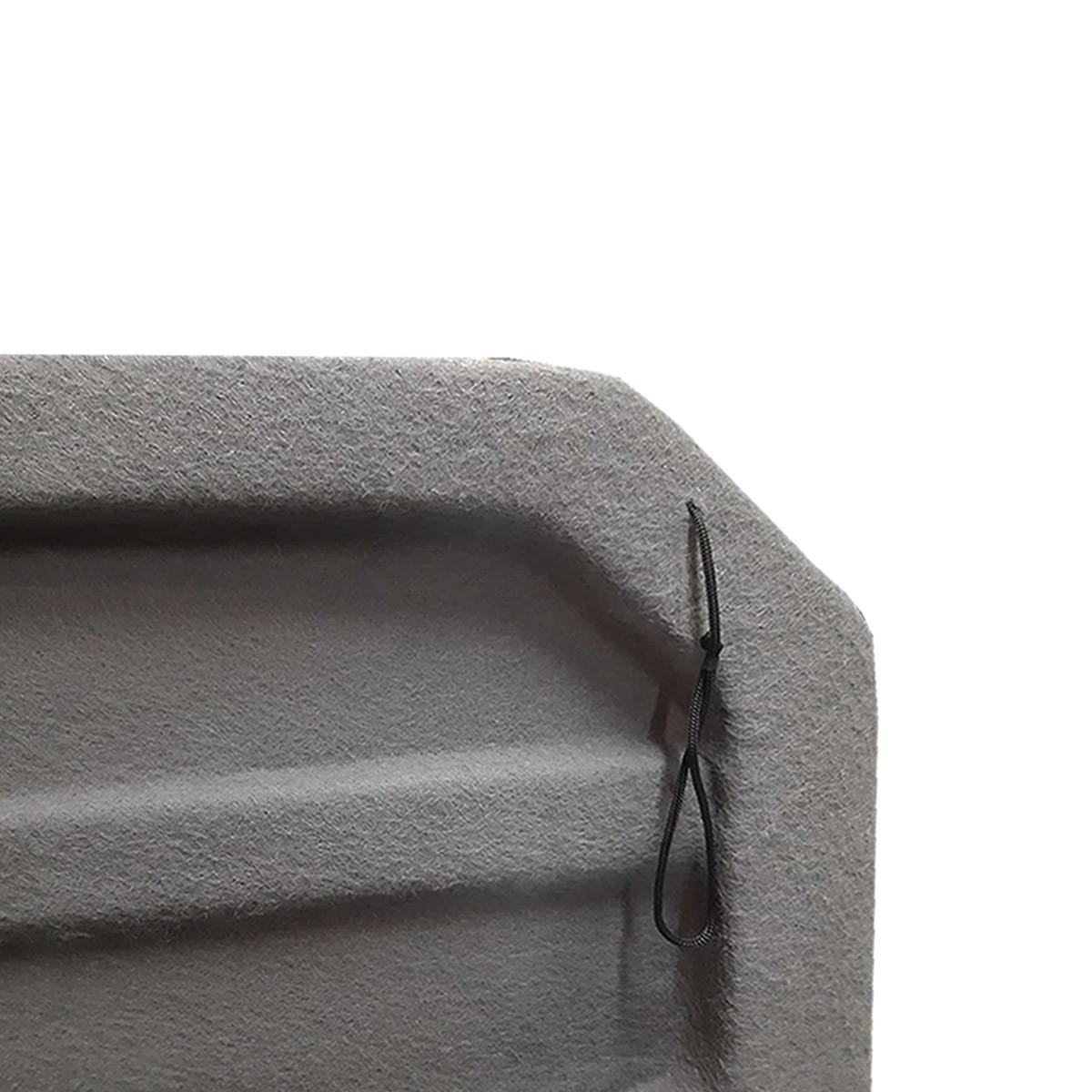 Tampão de Porta-Malas T-Cross em Plástico PEAD c/ Carpete Grafite 2020 em diante