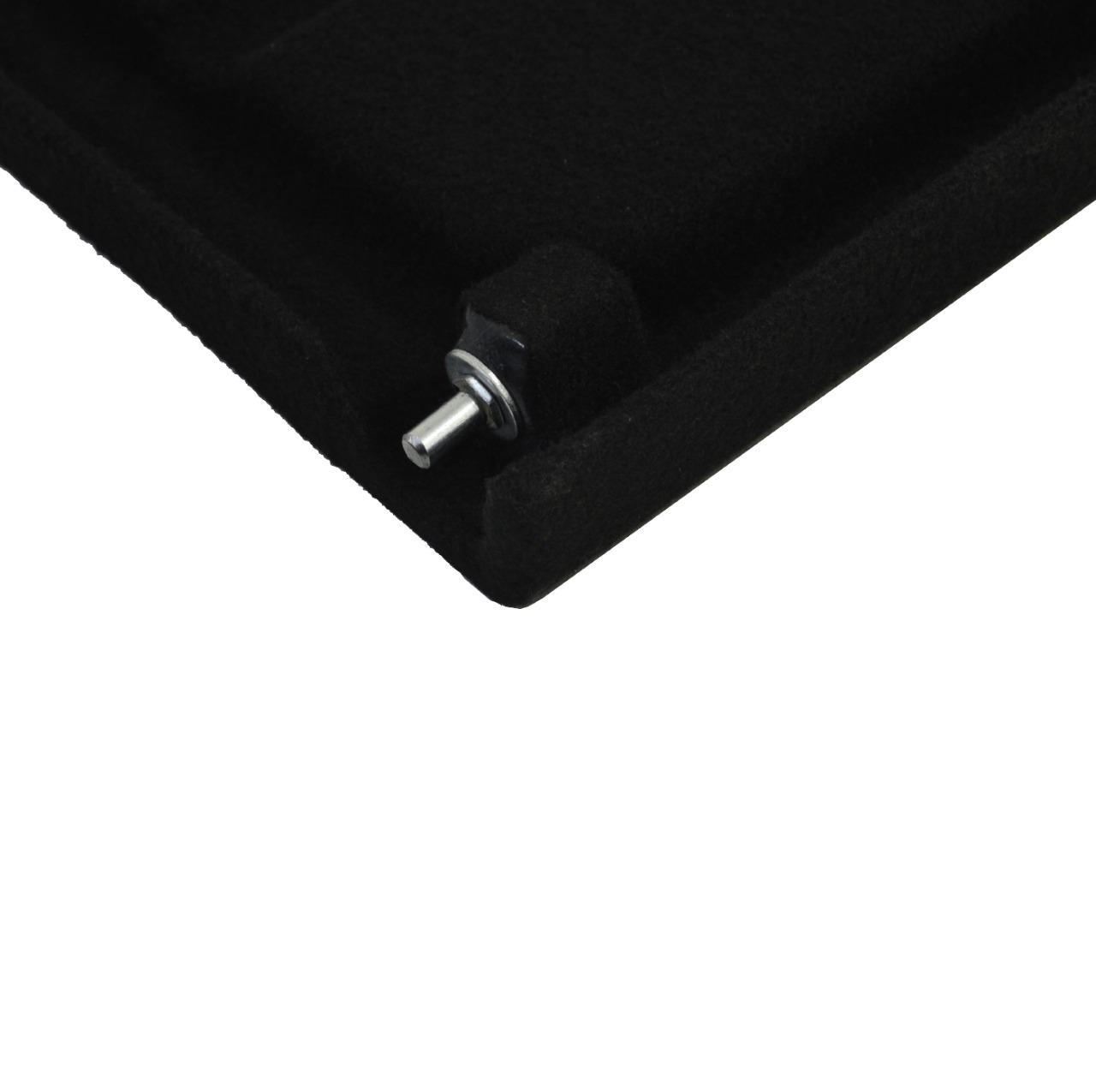 Tampão de Porta-Malas T-Cross em Plástico PEAD c/ Carpete Preto 2020 em diante