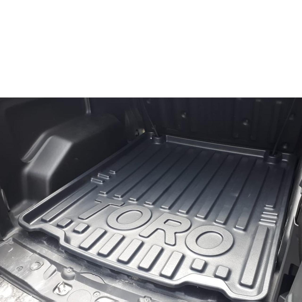 Tapete Bandeja Protetor De Caçamba Fiat Toro 2016 em diante