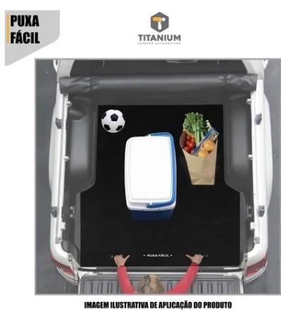 Tapete de Caçamba Puxa Fácil Chevrolet S10 Cabine Dupla 2012 em diante Titanium PF-0301