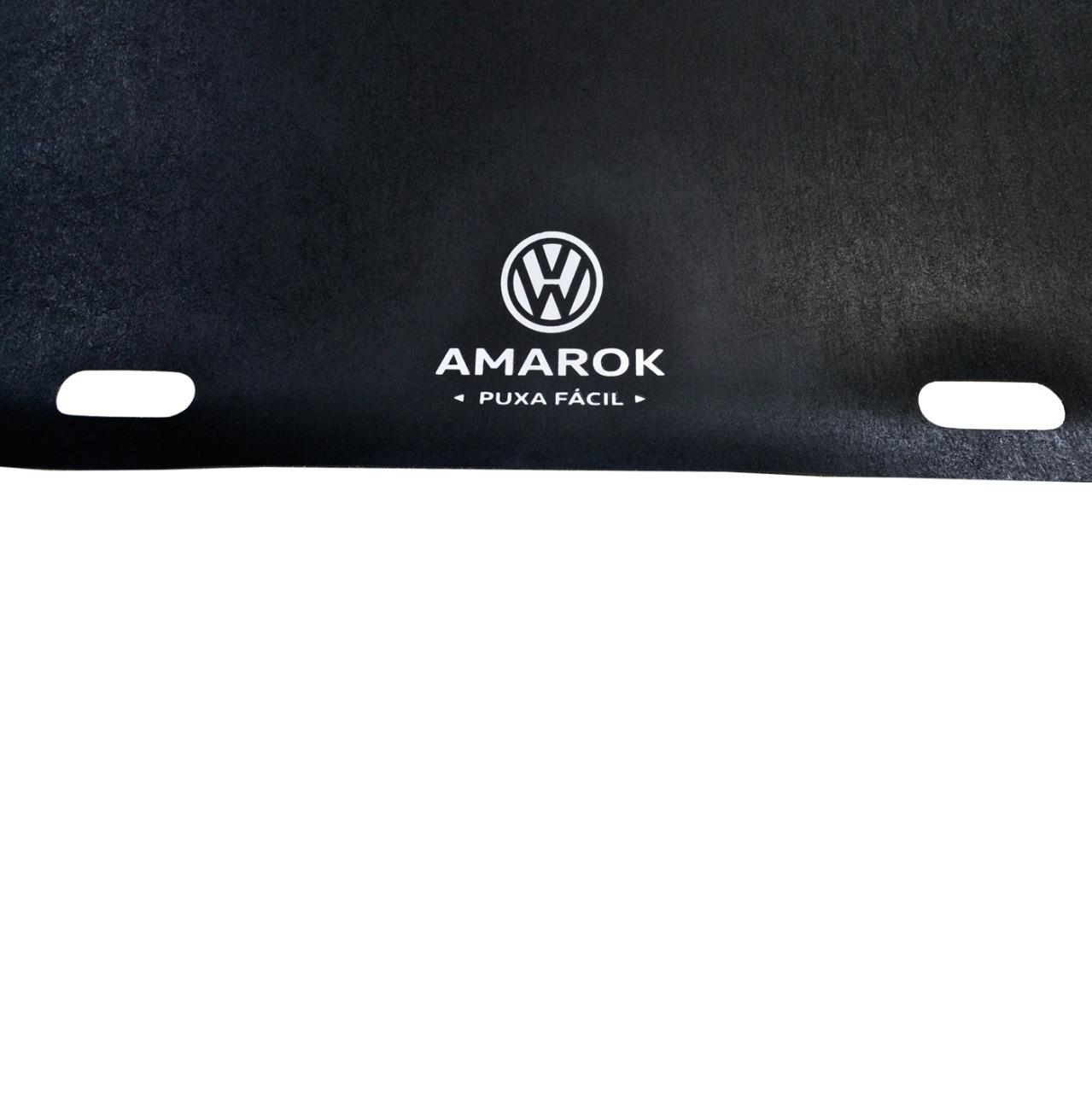 Tapete de Caçamba Puxa Fácil Volkswagen Amarok Cabine Dupla 2010 em diante Titanium PF-0201