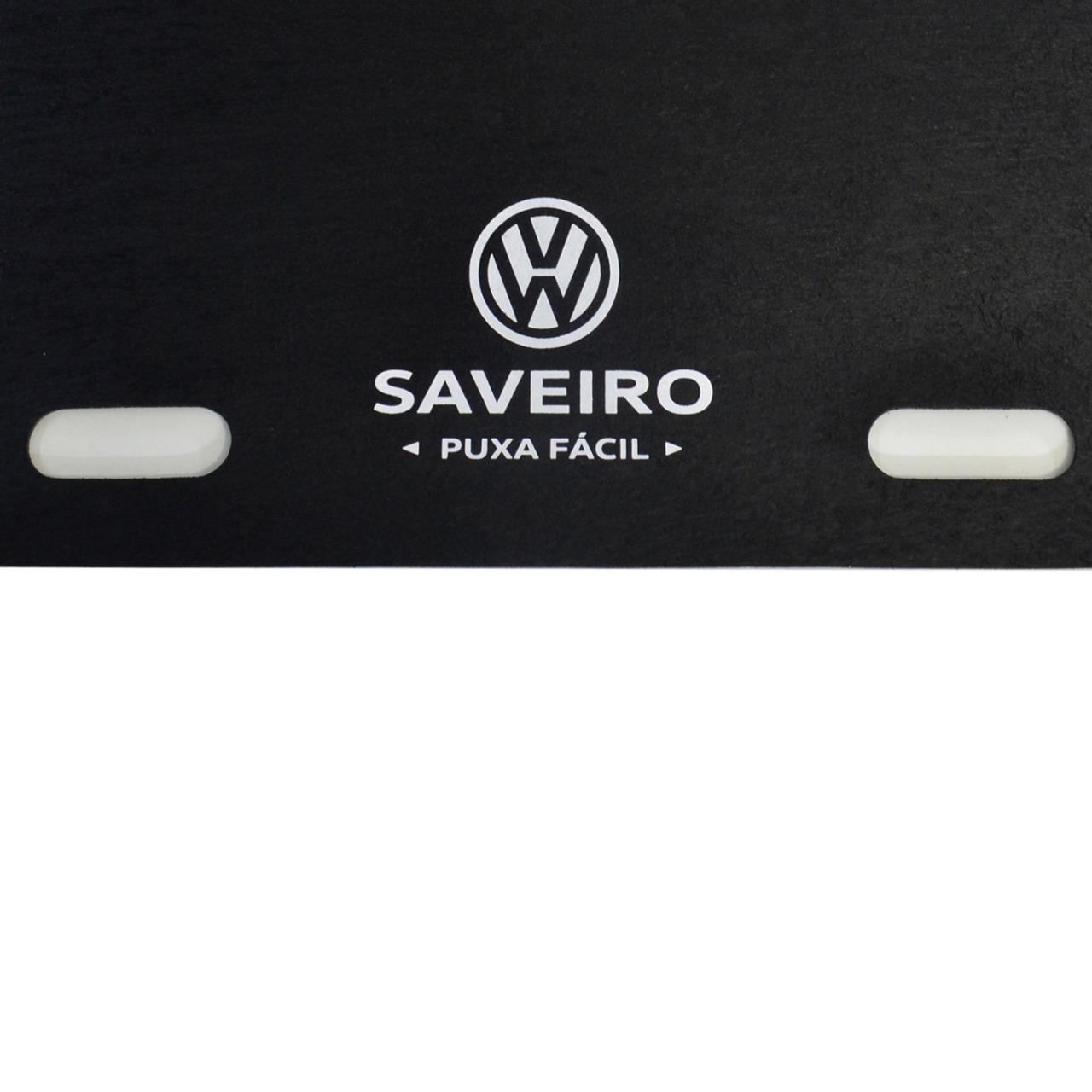Tapete de Caçamba Puxa Fácil Volkswagen Saveiro G5 Cabine Dupla 2009 á 2020 Titanium PF-0203