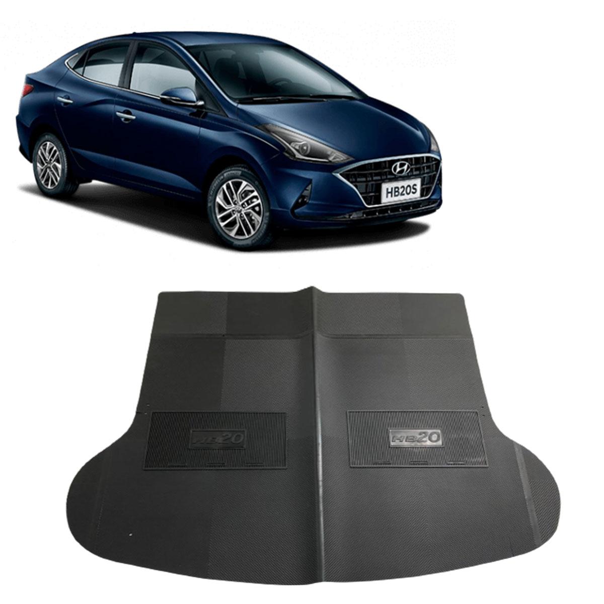 Tapete do Porta Malas em PVC Hyundai HB20 Sedan até 2019 Tapeplass