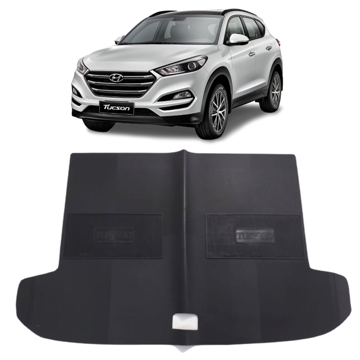 Tapete do Porta Malas em PVC Hyundai New Tucson Tapeplass