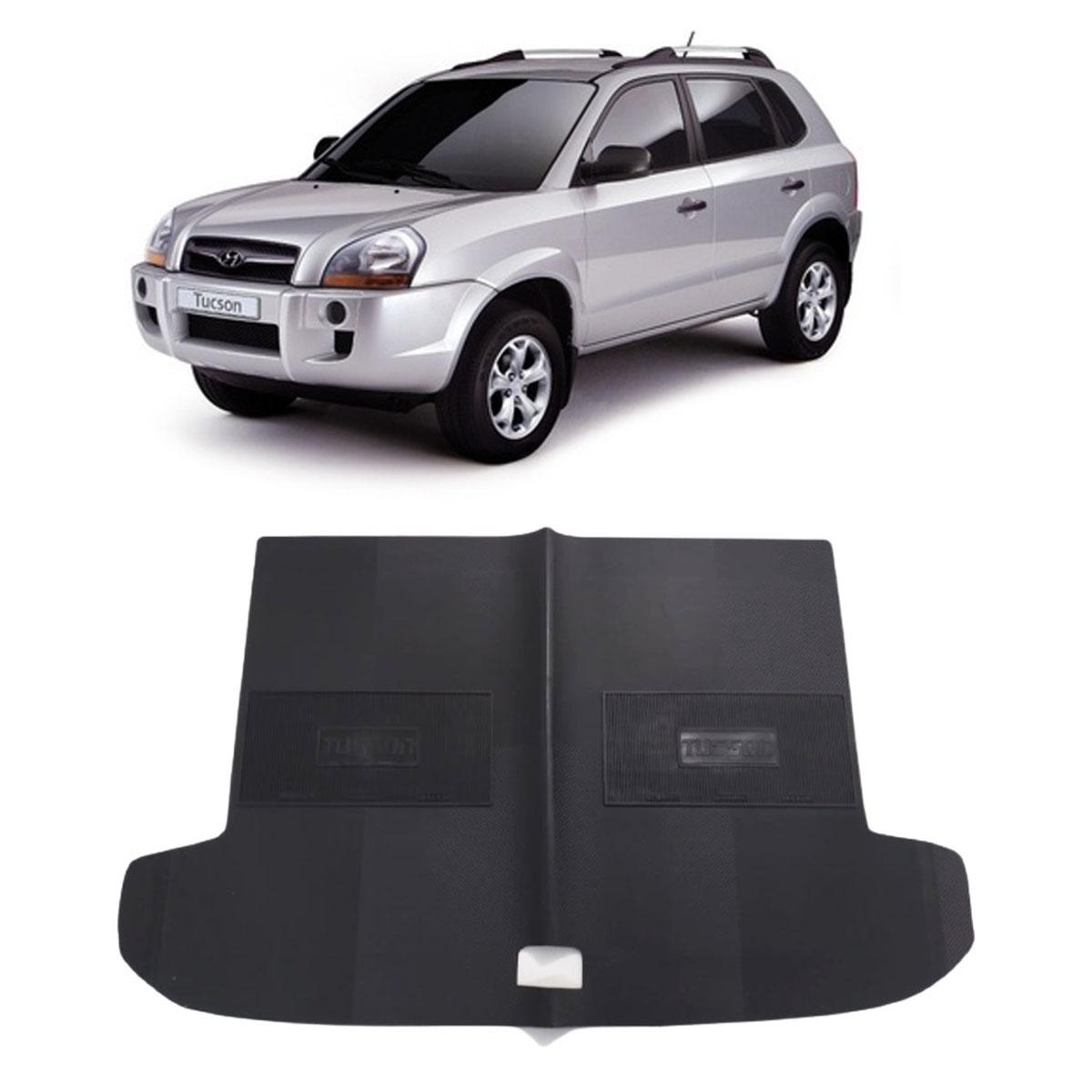 Tapete do Porta Malas em PVC Hyundai Tucson 2006 em diante Tapeplass