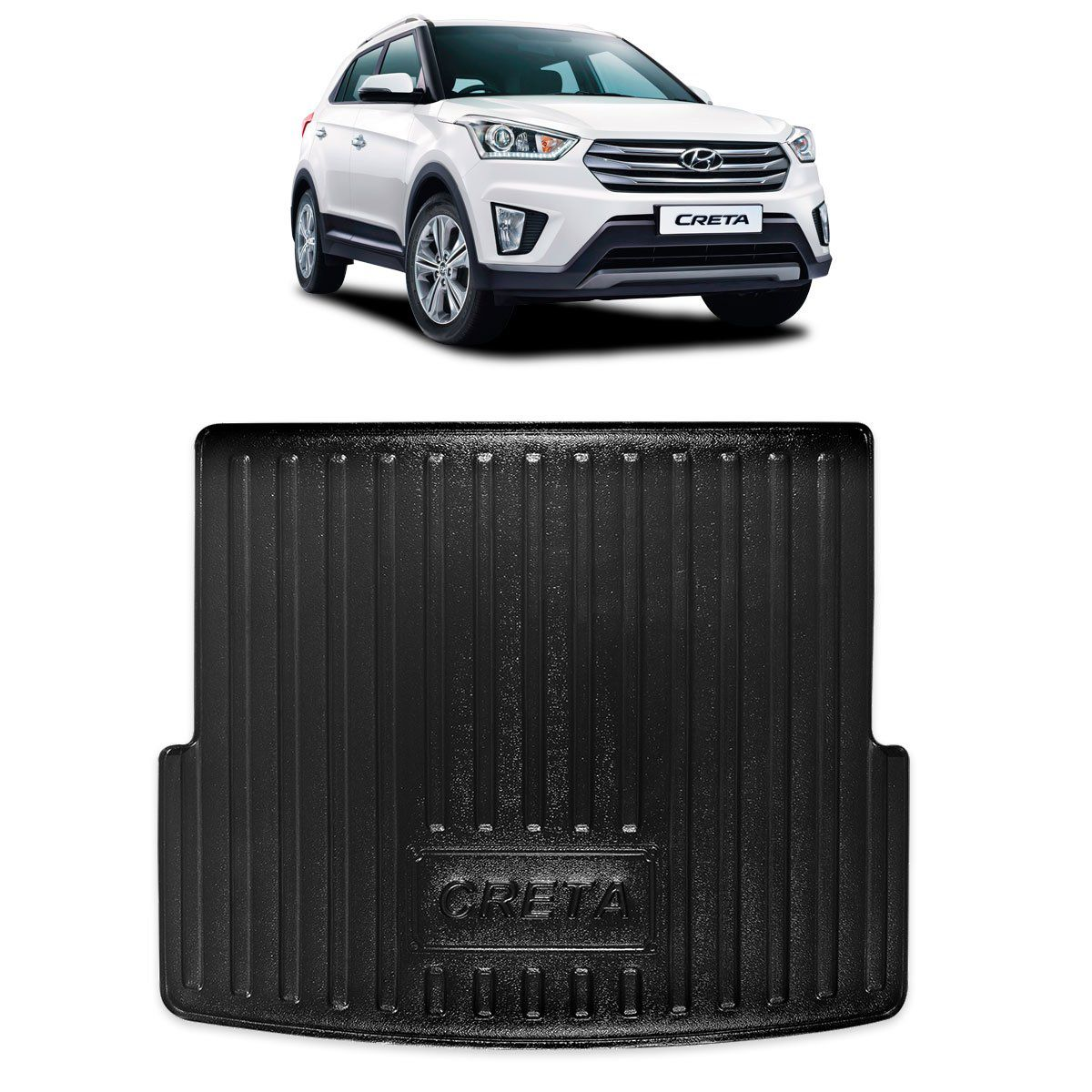 Tapete Porta-malas Bandeja para Hyundai Creta