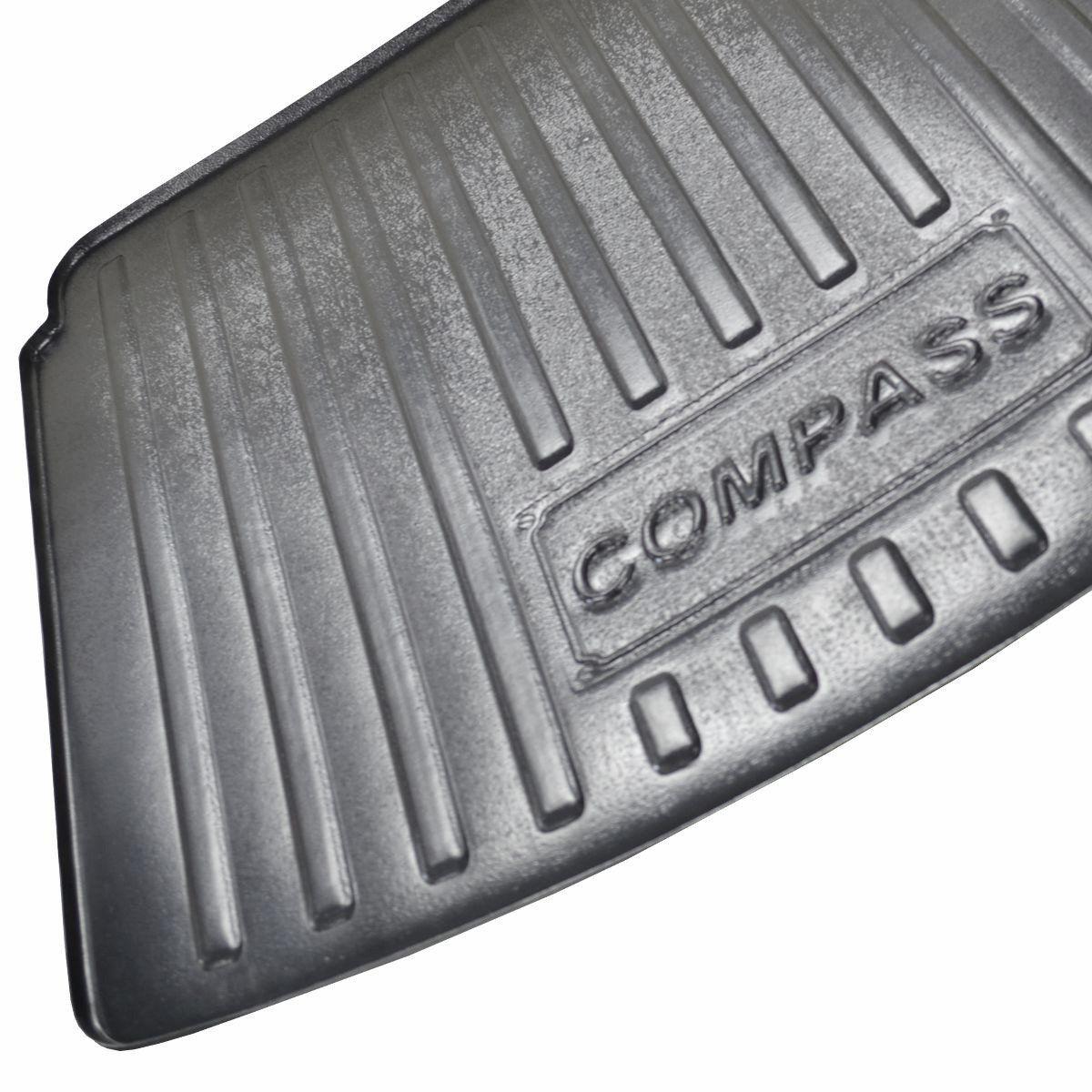 Tapete de Porta-malas Bandeja para Compass 2017 em diante
