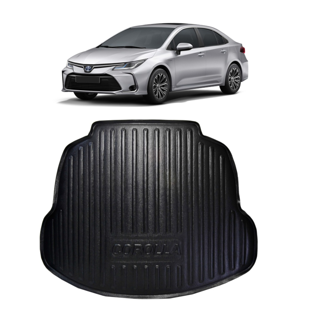 Tapete Porta-Malas Bandeja Toyota Corolla 2020 em diante