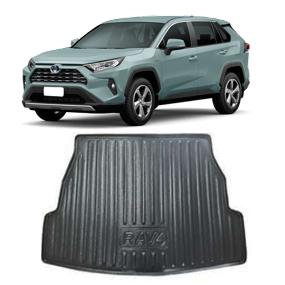 Tapete Porta-Malas Bandeja Toyota RAV4 2017 em diante