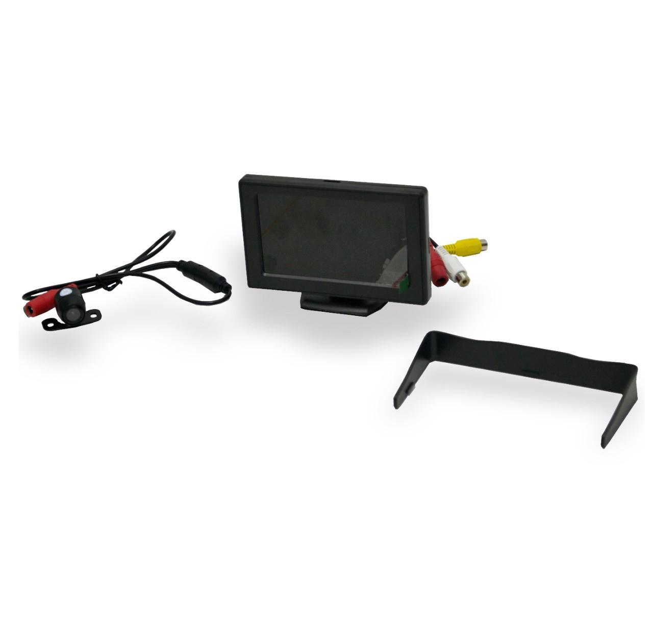 Tela LCD 4.3 Polegadas com Câmera