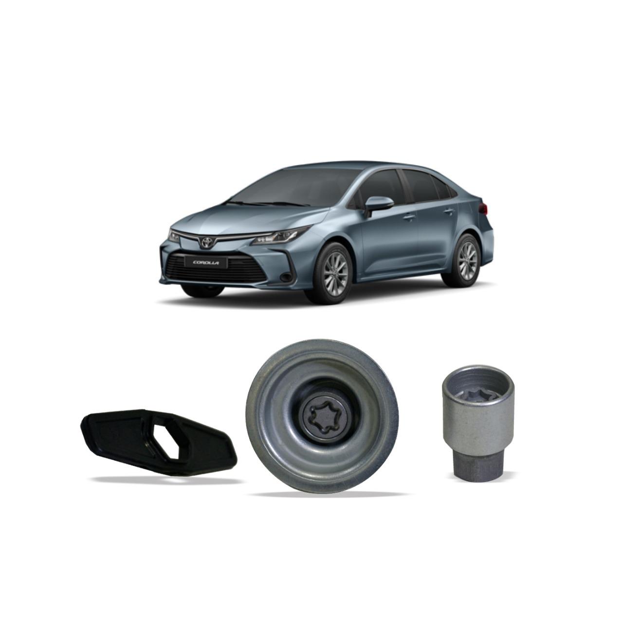 Trava de Estepe para Toyota Corolla Etios Yaris Farad 205/55 R16
