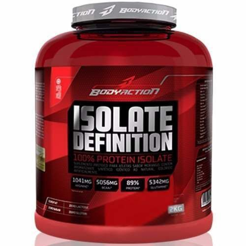 Whey Isolate Definition - 2000g Chocolate - Body Action  - Combat Airsoft