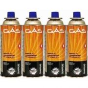 Kit Com 4 Gas Butano Refil 227g Nautika