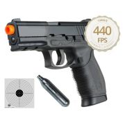 Pistola Airsoft Co2 Kwc 24/7 Slide Metal 440fps Cal. 6mm