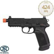 Pistola De Airsoft Green Gas  Gbb Fnx-45 Blowback Cal 6mm - Cybergun