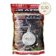 Esfera Airsoft Bbs Velozter Ntk 0.30g 6mm 3500un.