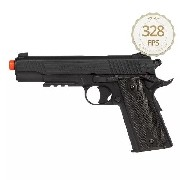 Pistola Airsoft Co2 Cybergun Colt 1911 Rail Nbb Blackened