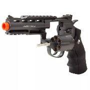 Revolver Airsoft Rossi Co2 Wg 701 4 Full Metal Preto 6mm
