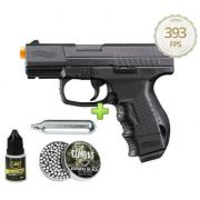 Pistola 4.5mm Co2 Umarex Walther Cp99 Slide Metal Blowback